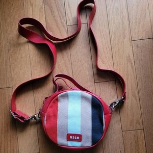 MSGM Circle Tambourine Bag (Made in Italy)